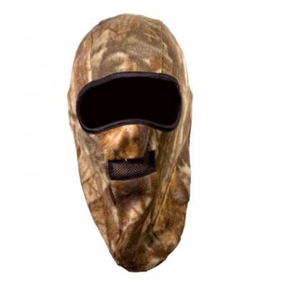 Шапка-маска Tagrider TR флис 2 отверстия + сетка КМФ