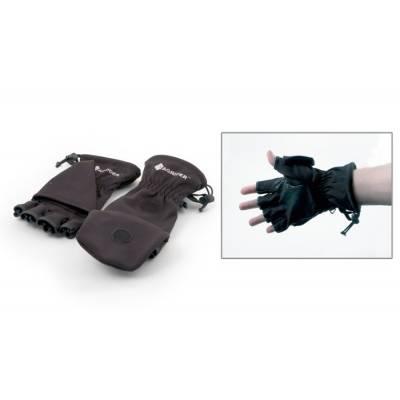 Рукавицы-перчатки Tagrider T-2013 с обрезанными пальцами неопреновые черные