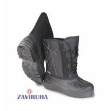 Сапоги зимние Zaviruha комбинированные