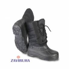 Сапоги зимние Zaviruha Орион черные комбинированные