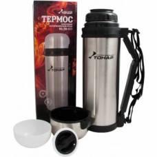 Термос HS.TM-013 1800ML (дополн. пласт. чашка, скл. ручка, ремень) TONAR